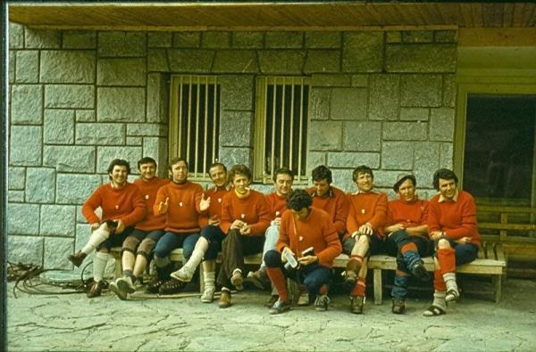 Участниците в курса за инструктори в ПКСС 1978 г.