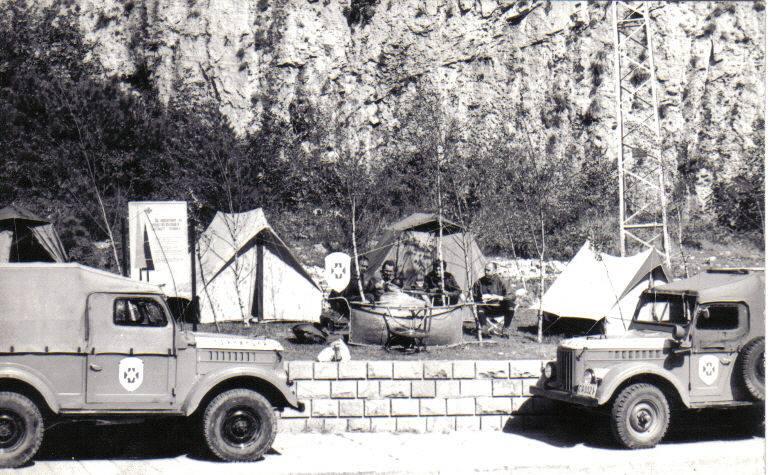 Охрана на Алпиниада ва Врачанските скали 1972 г